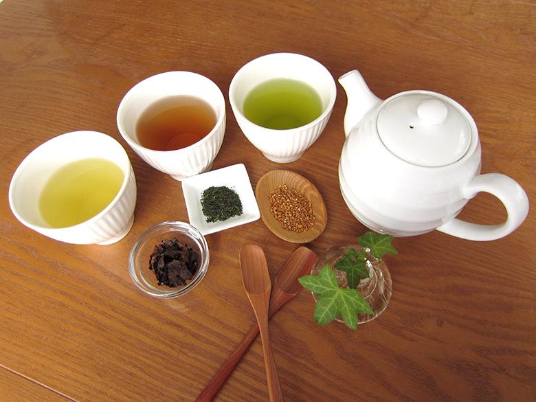 お茶(緑茶)×コーヒーで痩せる?  4種のお茶×コーヒーを比較してみた!