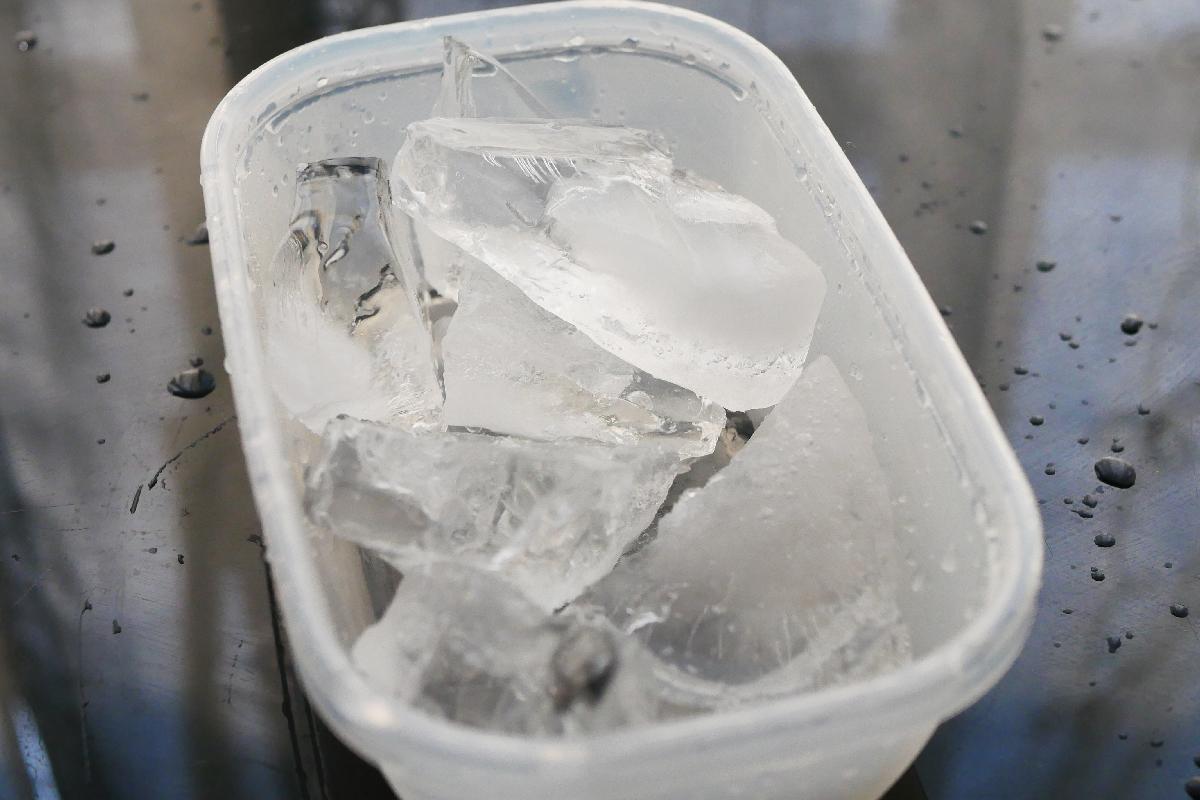 手づくり氷 ロックアイス 作り方
