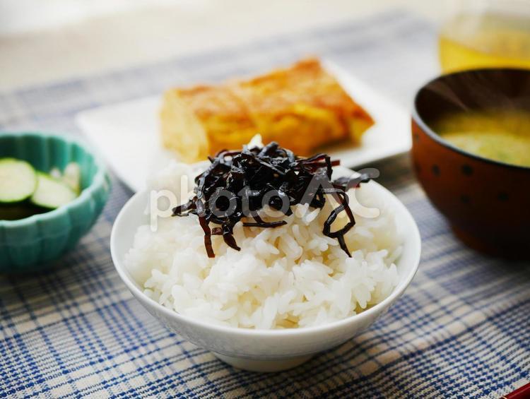 朝食(和食)の無料素材