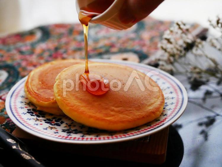 パンケーキの無料素材